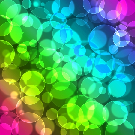 colorful bokeh background photo