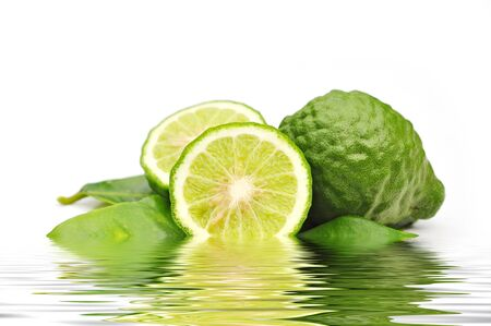 kaffir lime in water