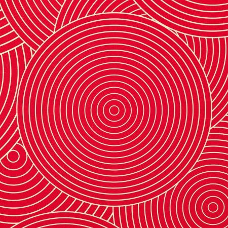 Red ornamental seamless pattern photo