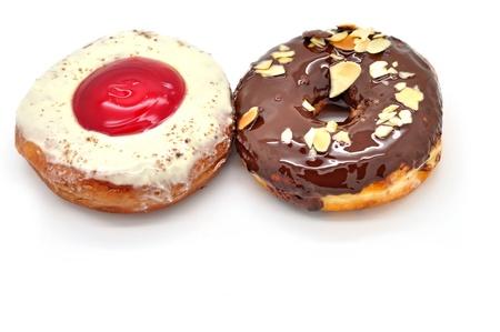 doughnut: doughnut isolated on white background