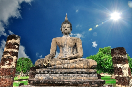 Buddha statue of Thailand photo