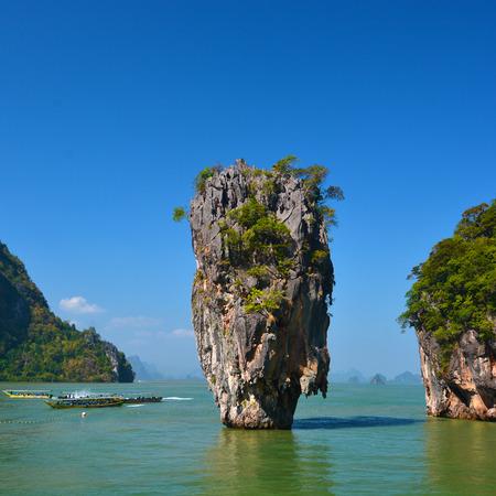 Island in Phang Nga, Thailand photo