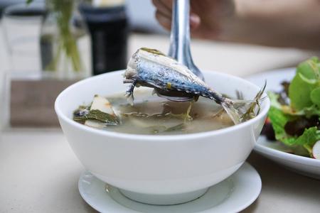 tom': Tom yum mackerel