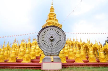 gloden: gloden pagoda Stock Photo