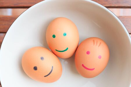 egg for sell in market photo