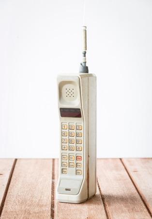 ビンテージの携帯電話 写真素材