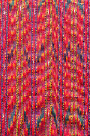 Abstract texture of Thailand textile photo