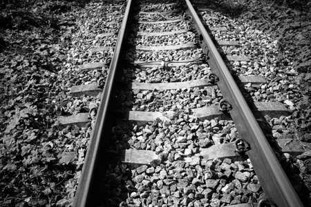 railway track: railway track Stock Photo