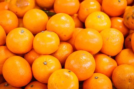 lifelike: oranges  at market Stock Photo