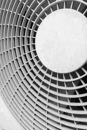 ventilate: fan aircondition close-up Stock Photo