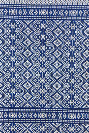 Texture of Thai silk pattern, Thailand textile photo