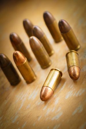 luger: 9mm bullet for a gun (dark style)