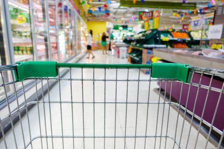 Shopping in super market