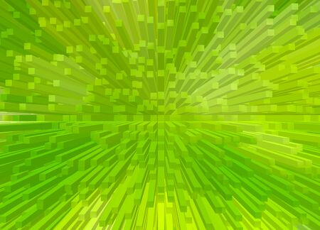 futuristic nature: Abstract green line technology background. Stock Photo