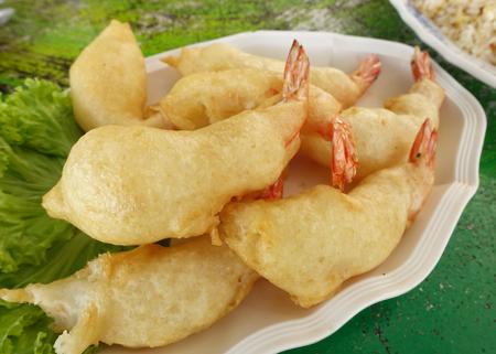 whitespace: Fried shrimp