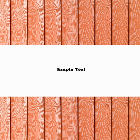 wooden insert: white blank on brown wooden for insert your text or product