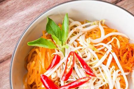 thai noodle: Thai style noodles, Pad-Thai, Thai cuisine.