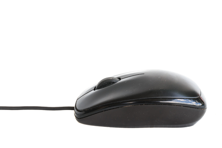 scrollwheel: computer mouse on a white background