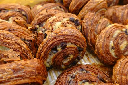 delicious food: Delicious bread at bakery shop. Stock Photo