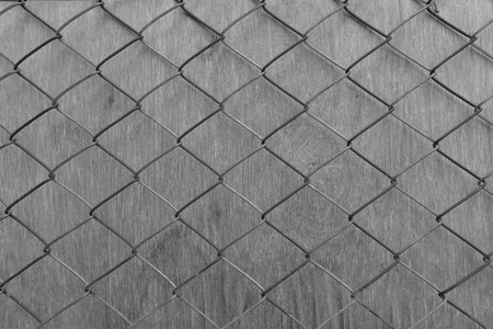 solid wire: wall covered with wire cloth, process color