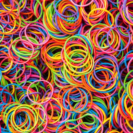 elastic band: colorful elastic band background