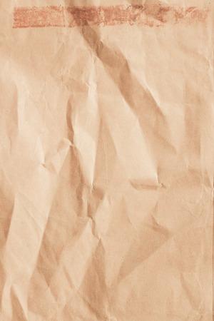 Pakpapiertextuur gebruikt voor de achtergrond.