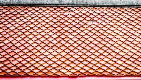 roof texture: orange temple roof texture