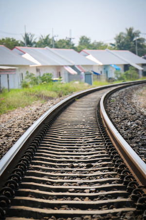 quietude: Railroad track