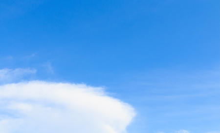 nimbi: Clouds in the blue sky on clear day