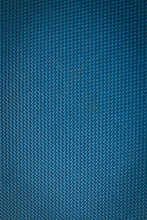 Blue canvas texture Stock Photo