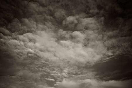 uğursuz: Dark ominous clouds. Dramatic sky background Stok Fotoğraf