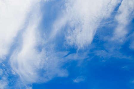 bluesky: blue-sky Stock Photo
