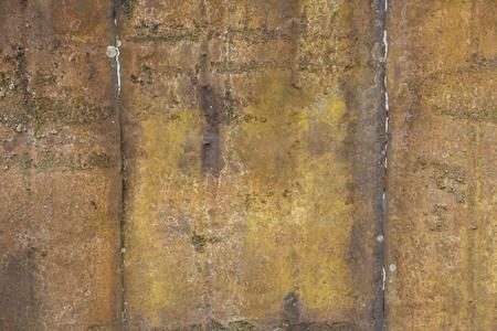 armoring: Grunge brown metal background texture.