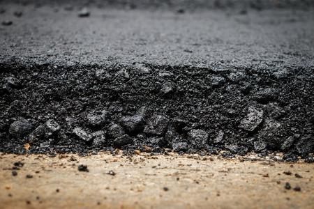 asphalt: Light Vibration roller compactor at road under construction and repairing asphalt, Road making.