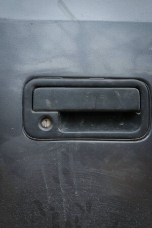blacked: Door car closeup detail