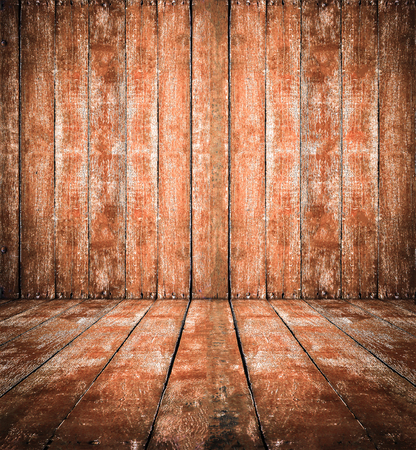 wooden insert: Vintage tone of grunge brown wooden texture background use for insert text or products. Stock Photo