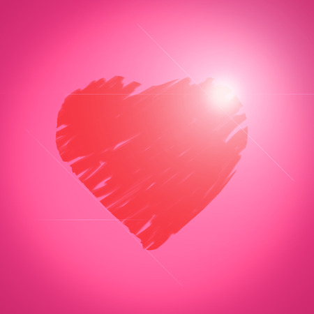 corazon: Ping heart background
