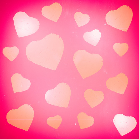 corazon: Abstract love heart background. Stock Photo