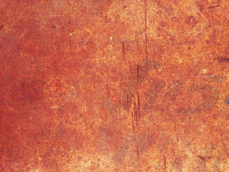 metal grunge: Close up top view of rustic grunge metal texture background Stock Photo