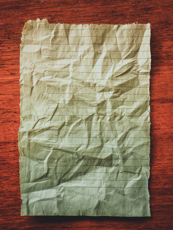 Close up top view of old paper texture background Stock Photo