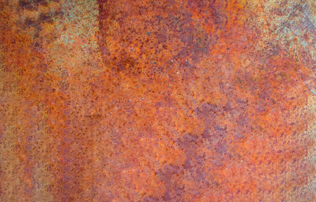 Close up iron old rust texture background Stock Photo
