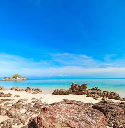 beach and tropical sea (beach, background, sand)