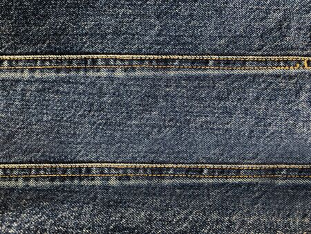 Close up blue denim pattern texture background