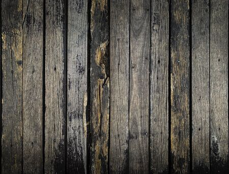 Close up old grunge rustic wooden texture background in dark  tone Reklamní fotografie
