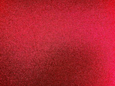 Red glitter texture background of celebration Valentines or Christmas Standard-Bild