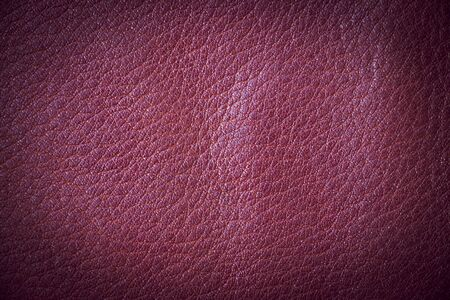 Close up top view of luxury red leather texture background Reklamní fotografie - 132134160