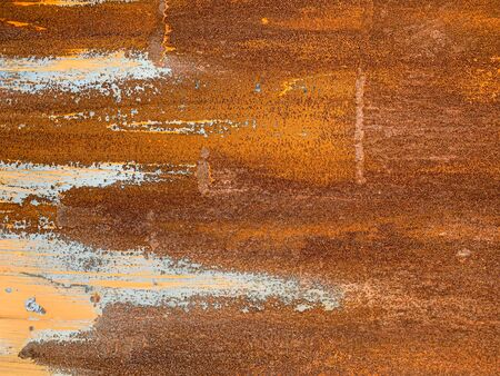 Close up old scratch rustic metal texture background pattern Reklamní fotografie - 132133757