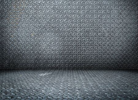 Close up old scratch rustic metal texture background pattern