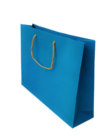 Colorful shopping bag isolated on white background Reklamní fotografie - 132133967