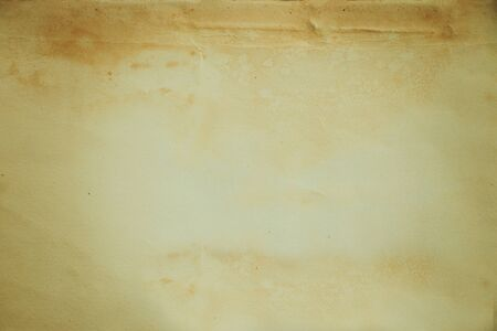 Close up top view of rustic old paper texture background with space use for texts display Standard-Bild